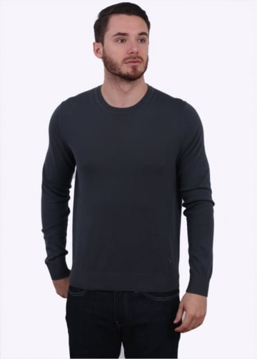 Paul Smith Crew Sweater - Graphite