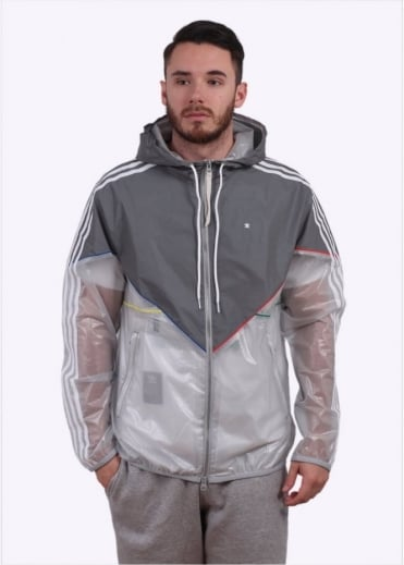 Adidas Originals Apparel Lux Colorado Windbreaker Jacket - Silver
