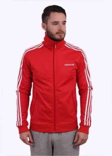 Adidas Originals Apparel Beckenbauer Track Top - Red