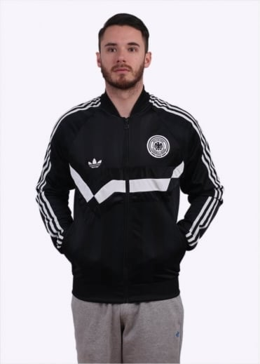 Adidas Originals Apparel Germany Track Top - Black
