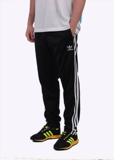 Adidas Originals Apparel Open Hem Track Pants - Black