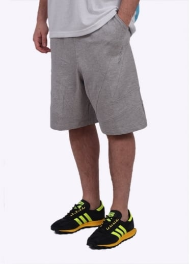 Adidas Originals Apparel Mod Long Shorts - Light Grey
