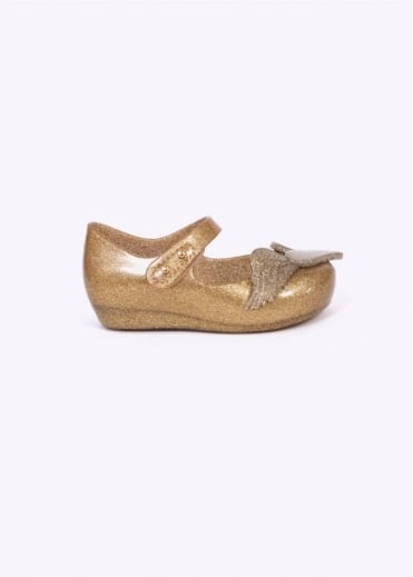 Vivienne Westwood x Melissa Kids Ultragirl Glitter Shoes - Gold