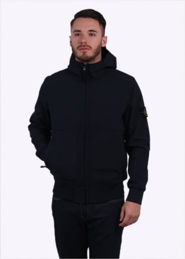 Stone Island Soft Shell R Jacket - Navy