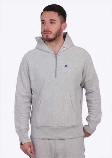 Champion x BEAMS Hoodie - Light Grey