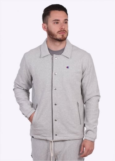 Champion x BEAMS Coach Jacket - Light Grey