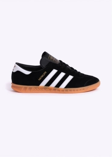 Adidas Originals Footwear Hamburg Trainers - Black / White