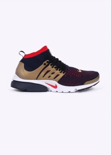 Nike Footwear Air Presto Flyknit Ultra - Navy / Gold