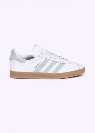 Adidas Originals Footwear Gazelle W - Vintage White / Pale Green