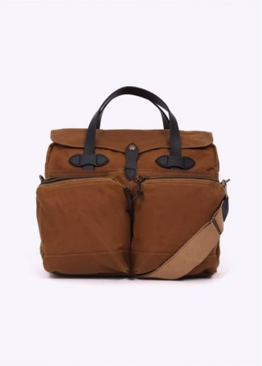Filson 24 Hour Briefcase Tan - One Size
