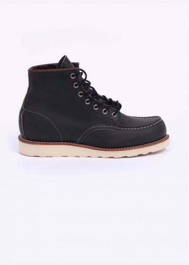 "Red Wing Shoes 6"" Classic Moc Boots - Charcoal"