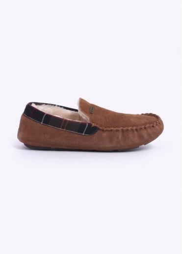 Barbour Monty Slippers - Camel