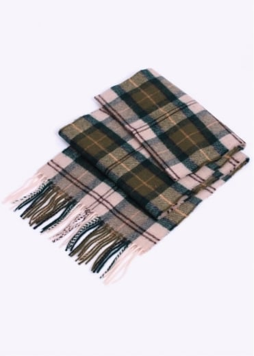 Barbour Tartan Lambswool Scarf - Ancient
