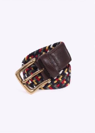 Barbour Tartan Colour Belt - Dress