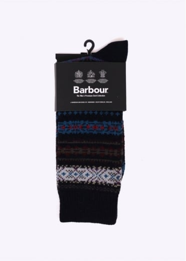 Barbour Boyd Sock - Navy