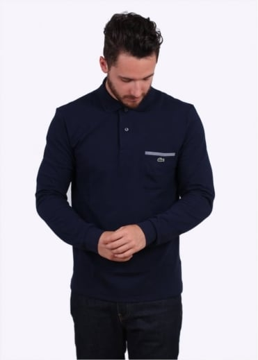 Lacoste LS Pocket Polo - Navy