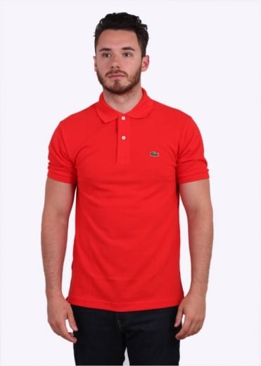 Lacoste SS Best Polo Shirt - Redcurrant Bush