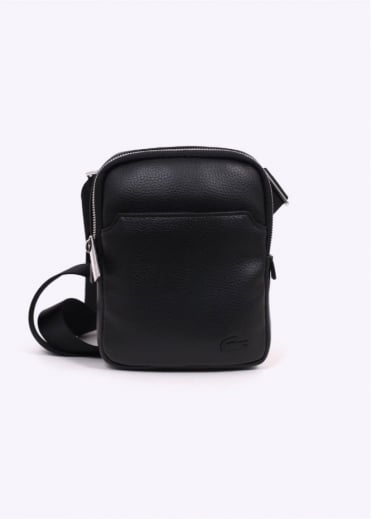 Lacoste Small Flat Crossover Bag - Black