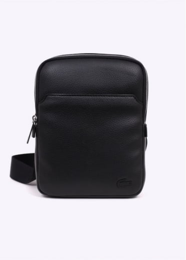 Lacoste Medium Flat Crossover Bag - Black
