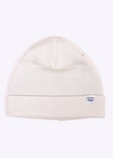 Norse Projects Top Beanie - Ecru