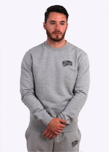 Billionaire Boys Club Small Arch Logo Sweater - Heather Grey