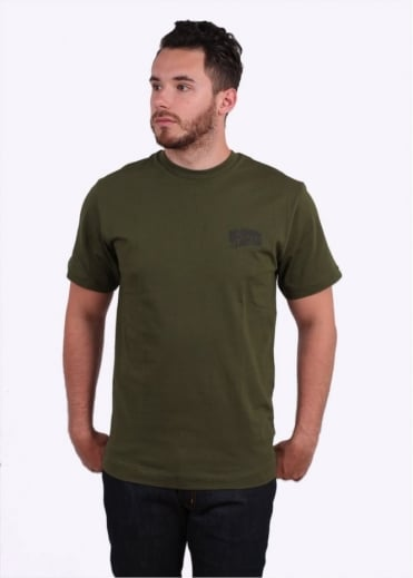 Billionaire Boys Club Small Arch Logo Tee - Olive
