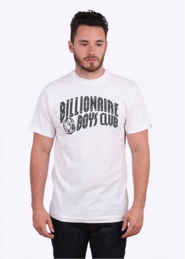 Billionaire Boys Club Arch Logo Reflective Tee - White