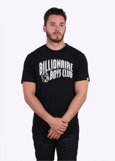 Billionaire Boys Club Arch Logo Reflective Tee - Black
