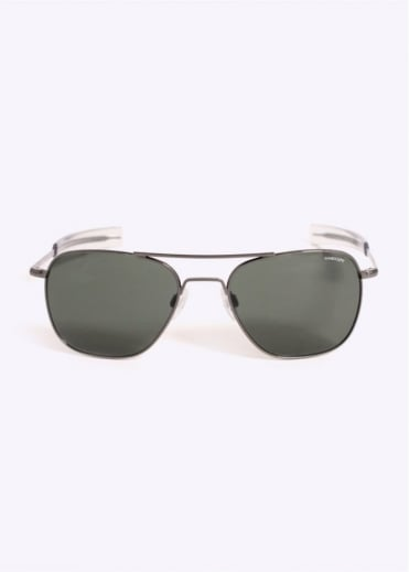 Randolph Engineering Aviator Sunglasses - Gun Metal