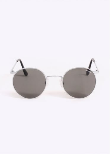 Randolph Engineering Submariner Sunglasses - Bright Chrome / Grey
