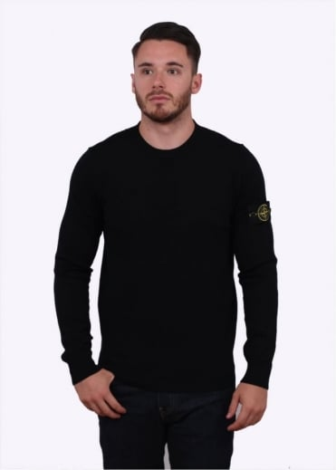 Stone Island Thin Sweater - Black