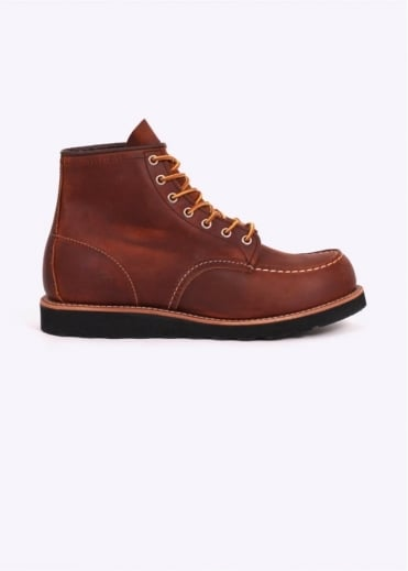 "Red Wing Shoes 6"" Moc Boots - Copper"