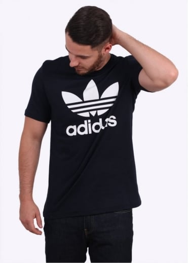 Adidas Originals Apparel Original Trefoil Tee - Legend Ink