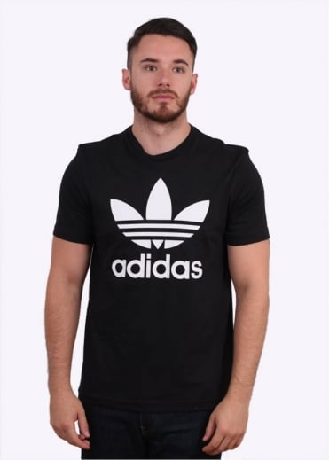 Adidas Originals Apparel Original Trefoil Tee - Black