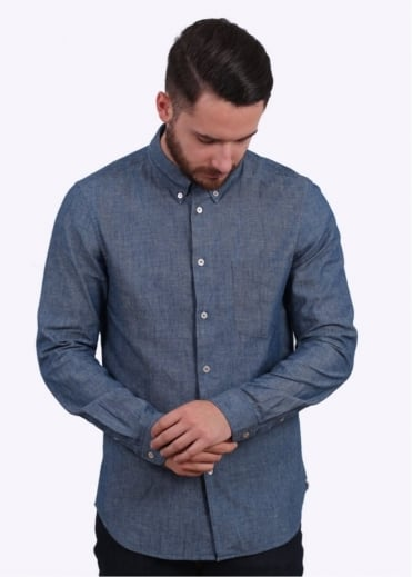 Paul Smith Tailored Shirt - Light Denim