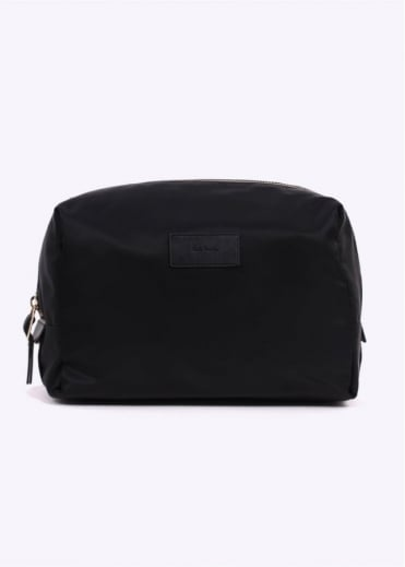 Paul Smith Nylon Washbag - Black