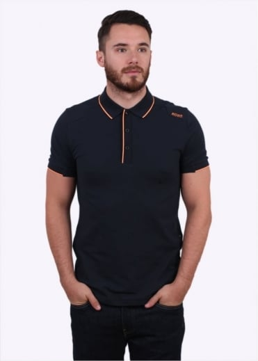 Hugo Boss Green Paule 1 Polo Shirt - Navy