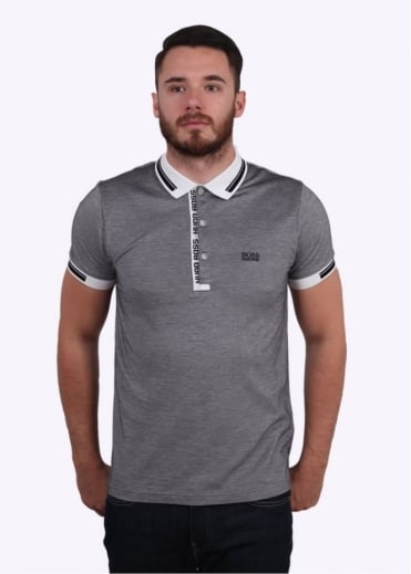 Hugo Boss Green Paule 4 Polo Shirt - Natural