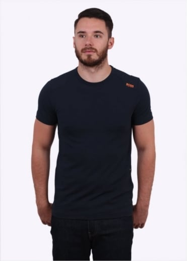 Hugo Boss Green Teenox Tee - Navy
