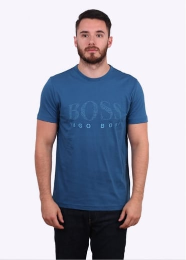 Hugo Boss Tee 6 - Open Blue