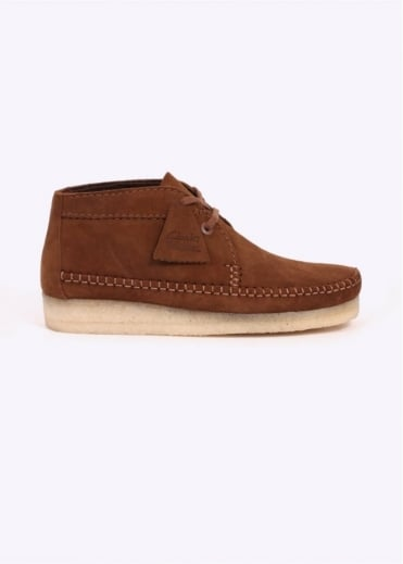 Clarks Originals Weaver Boot Suede - Cola