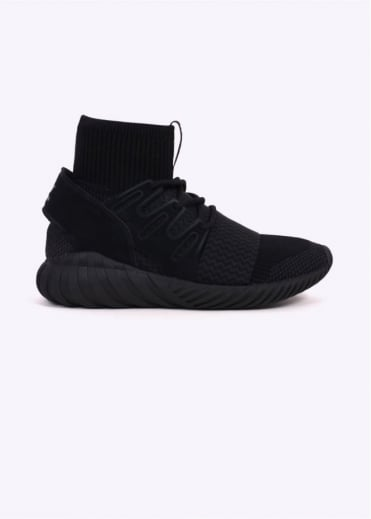 Adidas Originals Footwear Tubular Doom PK Primeknit - Core Black / Night Grey
