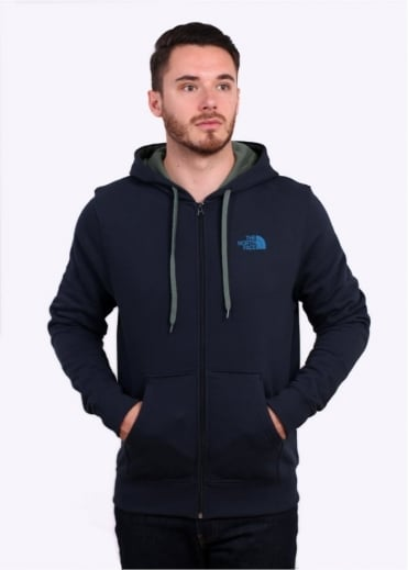 The North Face Open Gate Zip Hoodie - Urban Navy
