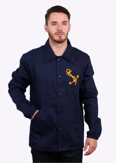 Ebbets Field Flannels Great Lakes Windbreaker - Navy
