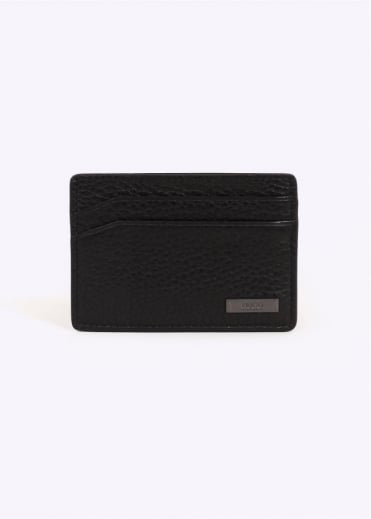 Hugo Boss Accessories Element S Card Wallet - Black