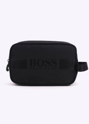 Hugo Boss Pixel Washbag - Black
