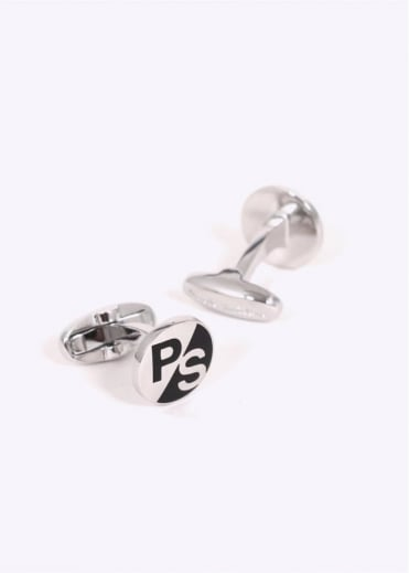 Paul Smith Logo Cufflinks - Silver