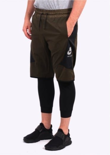 Nike Apparel Internationalist Running Shorts - Dark Loden