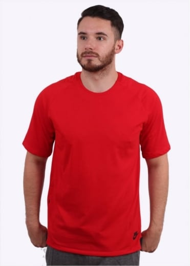 Nike Apparel Bonded Top - Red