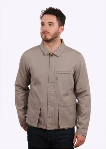 Folk Five Pocket Jacket - Grey Stone
